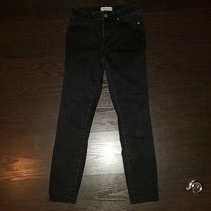 Madewell High Riser Skinny Size 27 Jean's